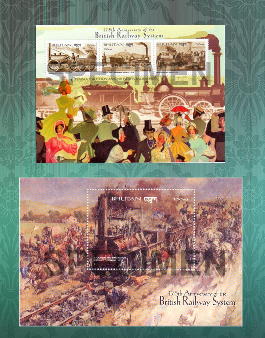 175th anniversary of British Railway System