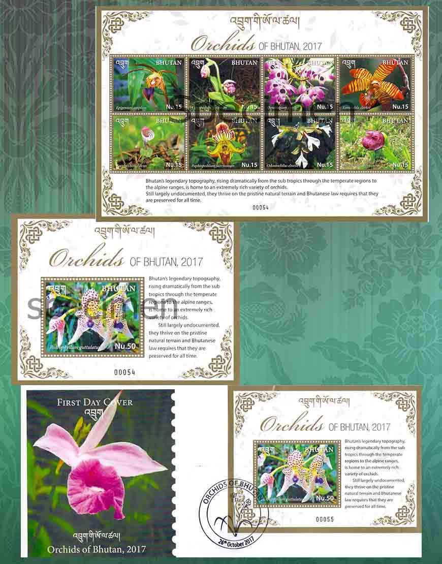 Orchids of Bhutan