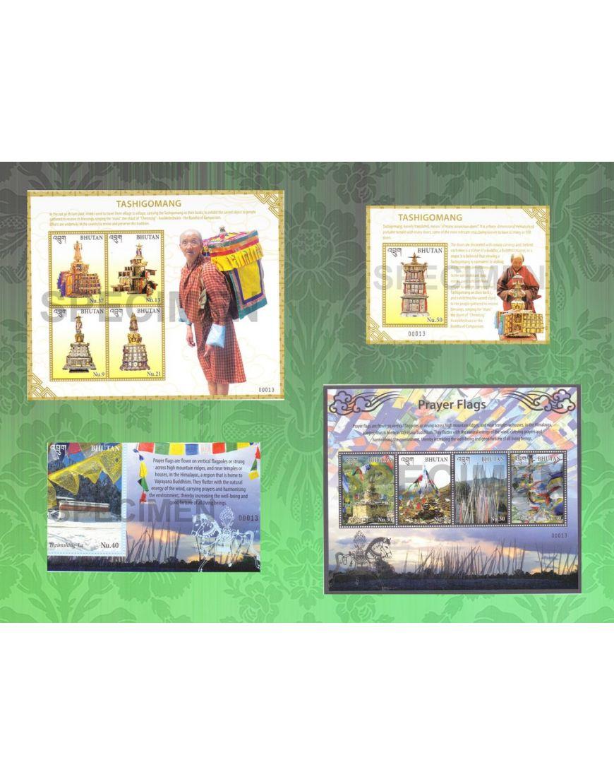 Tashigomang & Prayer Flags