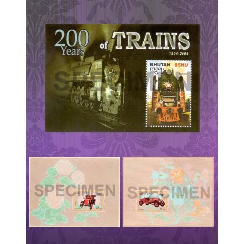 Automobiles, 200 years of trains