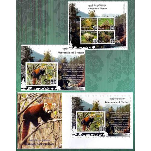 Mammals of Bhutan (Video Stamp)